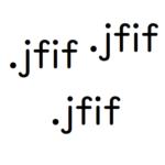 画像を保存すると.jfifファイルという拡張子になってしまう 3分で.jpgに戻す方法