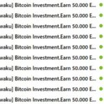 Bitcoin Investment.Earn 50.000 Euro  Beware of spam emails