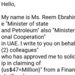 【Partnership】Hello, My name is Ms. Reem Ebrahim Al-Hashimi,【Ms. Reem】