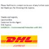 DHLを装った添付ファイルメールに要注意 迷惑メールspam E-mail information