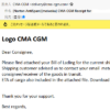 CMA CGMを名乗った迷惑メールに要注意 Watch out for emails that feature CMA CGM